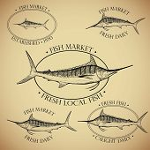 Seafood Signs and Labels