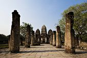 Sukothai old city In Thailand