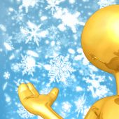 Gold Guy Weather Presenter poster