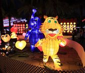 Chinese lanterns in the shape of animals