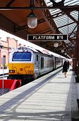Train at platford, Moor Street, Birmingham.