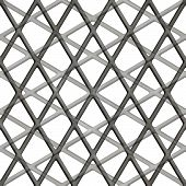 stock photo of terrazzo  - Seamless patterned square lattice in the form of a frame - JPG