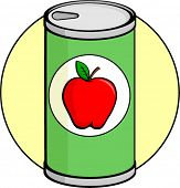 apple juice can