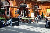 Cafe, Moor Street Railway Station.