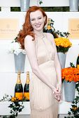 JERSEY CITY, NJ-MAY 31: Singer Karen Elson attends the 7th Annual Veuve Cliquot Polo Classic at Libe