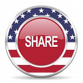 share american icon, usa flag