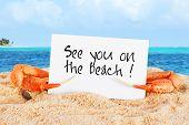 Crab Beach Card