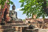 Buddha statue in Ayuthaya, Thailand