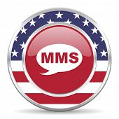 mms american icon, usa flag