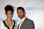 LOS ANGELES - JUN 1:  Sherri Saum, Kamar de los Reyes at the 7th Annual Television Academy Honors at