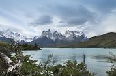Torres Del Paine Peaks. Chile. South America