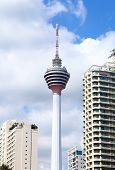 pic of kuala lumpur skyline  - Kuala Lumpur skyline - JPG