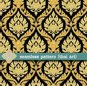 seamless pattern. thai art