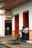 Bar Quindio in Salento, Colombia