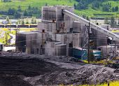 Dirty Coal Mine Building Fossil Energy Resource