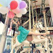 foto of merry-go-round  - Merry - JPG