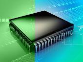 Computer Microchip Cpu
