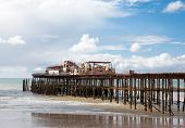 Hastings Pier, Was Burnt Down In October 2010