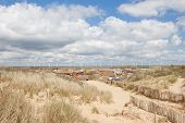 Camber Sands, Camber: Dunes And The Beach Near Rye In East Sussex, England