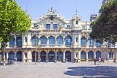 Barcelona. Building Is Advice Of Port Works, It Is Built At The Beginning Of 20 Century