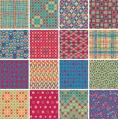 Textile Seamless Pattern Set No.10