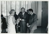 CANADA - CIRCA 1960s: Vintage photo shows tea party.