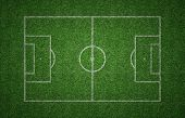 Grass Soccer Pitch