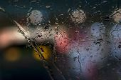 Rain And Glass