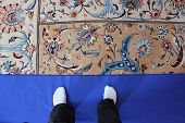 Sultan Qaboos Grand Mosque carpet