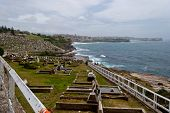Cemetery And Ocean Near Bondi Beach, Australia
