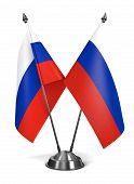 Russia - Miniature Flags.