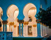 Abu Dhabi Sheikh Zayed White Mosque. UAE