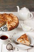 Tea With Apple Pie