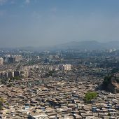 Aerial View Of Mumbai Slums