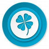 four-leaf clover icon