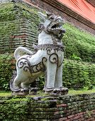 Thai Singha (lion) Guardian statue