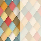 rhombus modern background