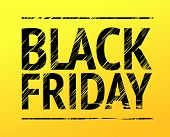 black Friday yellow sign