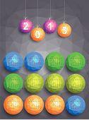 Calendar 2015 Vector Design