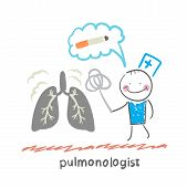 pulmonologist knocks dust from the human lung