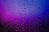 Raindrops On A Window Pane