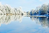 Winter Day On The River