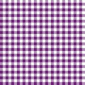 Checkered Tablecloths Pattern - Endless - Purple