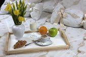 Breakfast  In A Hotel