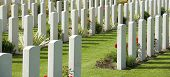 British Cemetery in Bayeux, Normandy, France.