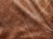 brown leather texture (natural color).