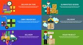 pic of shipping receiving  - Concept of services in delivery goods - JPG
