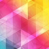image of polygon  - Vector background abstract polygon triangles - JPG