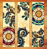 foto of batik  - Paisley batik background - JPG