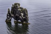 picture of troll  - A rock in Iceland said to be a petrified troll - JPG